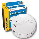 Smoke Alarm Ionisation Interconnectable Mains 9v Battery Backup