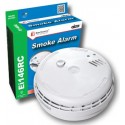 Optical Smoke Alarm Interconnectable Mains 9v Battery Backup