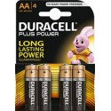 Duracell 4 Cell Blister  - Aa 1.5V Batteries