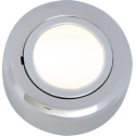Cabinet Downlight 12V Round Chrome Dual Mount Including Lamp
