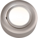Cabinet Downlight 12V Round B/Chrome Dual Mount Including Lamp