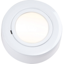 Cabinet Downlight 12V Round White Dual Mount Including Lamp