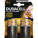 Duracell 2 Cell Blister  - D 1.5V Batteries