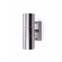 IP44 Up & Down Wall Light Stainless Steel