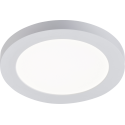 12W LED CCT Round Panel Dual Mount White 850 - 940lm