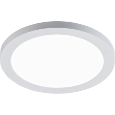 18W LED CCT Round Panel Dual Mount White 1300 - 1400lm