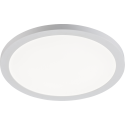 24W LED CCT Round Panel Dual Mount White 1940 - 2100lm