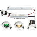 IP20 3W LED EMG NM3 DOWNLIGHT (55MM)