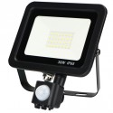 IP65 30W PIR LED Flood 6000K 2400lm
