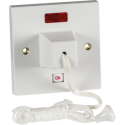 45A DP Ceiling Pull Cord Switch with Neon