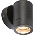 IP65 Down Wall Light Black GU10